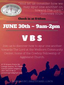 Vacation Bible School @ Wellborn Community Center | New Albany | Ohio | United States