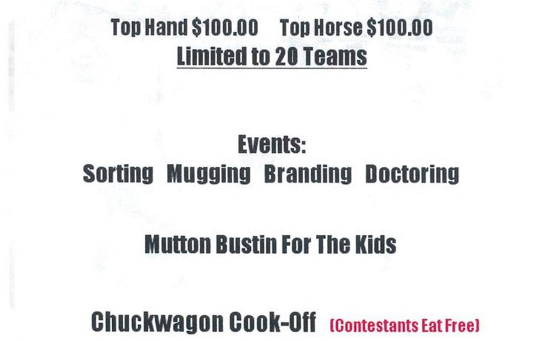 South Central Bunch Ranch Rodeo and Chuck Wagon Cook Off